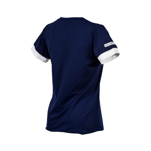 111-Double-U-tshirt-performance-blu-navy-bianco-retro