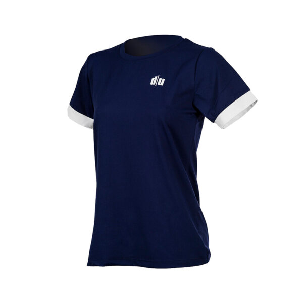 112-Double-U-tshirt-performance-blu-navy-bianco