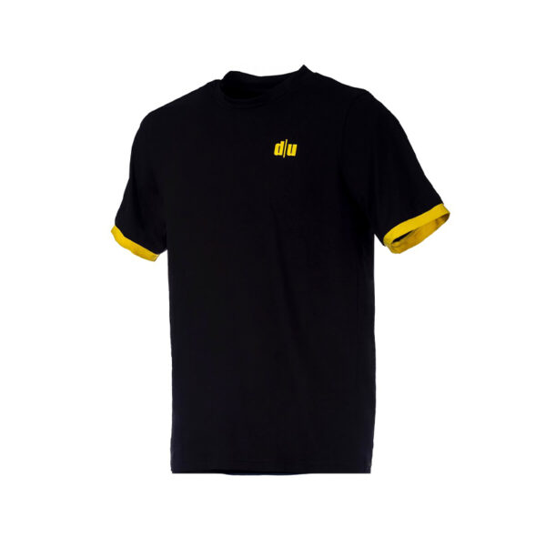 115-Double-U-tshirt-performance-nero-giallo